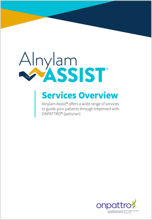 Alnylam Assist® Services Overview Brochure for HCPs thumbnail